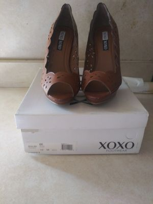 XoXo brownish high heel dress sandal for Sale in Willingboro, NJ