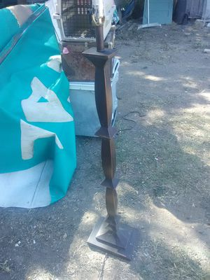 4 ft lamp no shade for Sale in San Antonio, TX