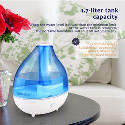 Ultrasonic Cool Mist Humidifier 1.7L new for Sale in Danville,  PA
