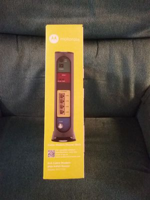 $70. Cable MODEM PLUS ROUTER PD. $100. for Sale in Aurora, OR