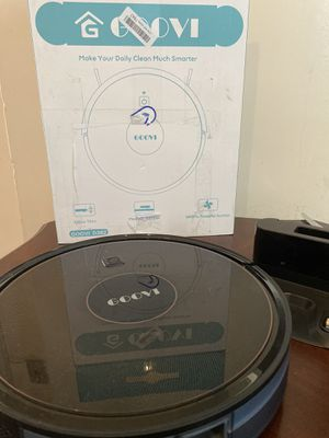 robot vacuum goovi 1600pa robotic vacuum cleaner with self-charging 360° for Sale in Westerville, OH