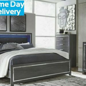 ♦Same Day Delivery 🍒SPECIAL] Lodanna Gray LED Panel Bedroom Set by Ashley for Sale in Washington, DC
