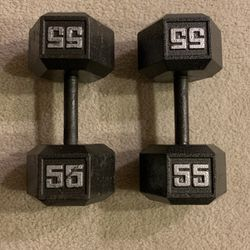 55 lb Cast Iron Weights for Sale in Gaithersburg,  MD