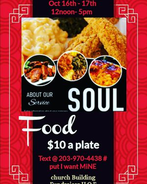 Soul food Fundraiser for Sale in Bristol, CT