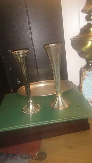 Silver vases for Sale in Wichita, KS