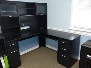 Black office desks for Sale in Apopka, FL