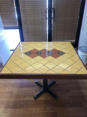 Tile designed table for Sale in Glendale, AZ