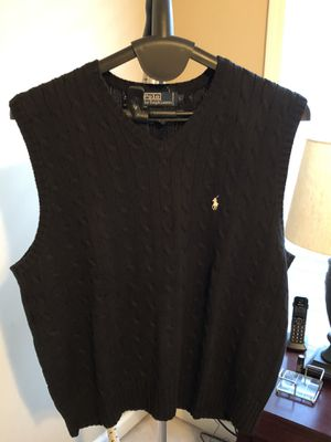 Ralph Lauren Cable Knit Sweater Vest for Sale in Dacula, GA