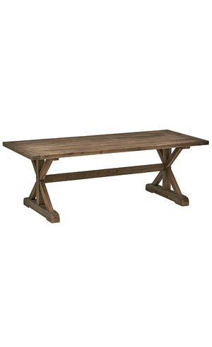Solid Wood Rustic Farmhouse Dining Table for Sale in Phoenix, AZ