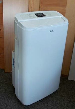 AC LG 11,000 BTU Portable Air Conditioner + A/C Hose and Window Kit for Sale in Vista, CA