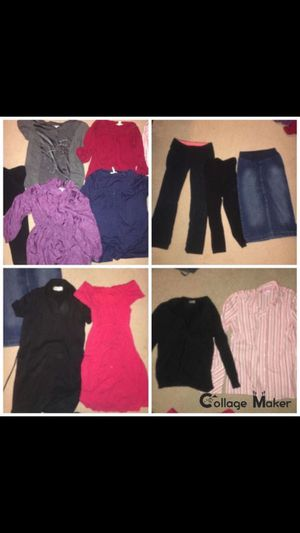 Maternity clothes - shirts, dresses, skirt, pants, sweater... for Sale in Renton, WA