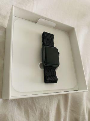 New Apple 🍏 Watch Series 3 (GPS+LTE) 38MM Stainless Steel Case - Black for Sale in Dunedin, FL