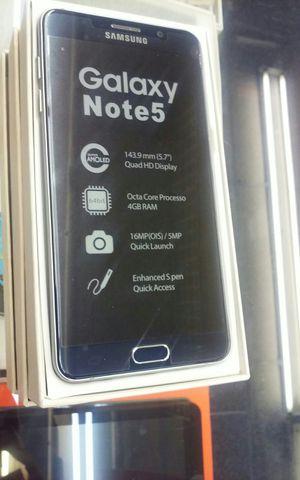 Samsung galaxy note 5 Unlocked for Sale in Dallas, TX