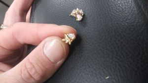 Womens diamond and opal 14k earings for Sale in Tacoma, WA