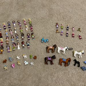 Lego Friends Ultimate Figure Bundle! for Sale in Sarasota, FL