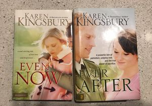 Karen Kingsbury Book Set-Even Now & Ever After for Sale in Bothell, WA