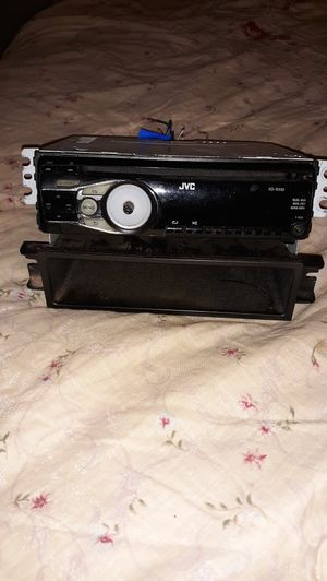 JVC CD Player w/Aux Cord Connection for Sale in Montgomery, AL