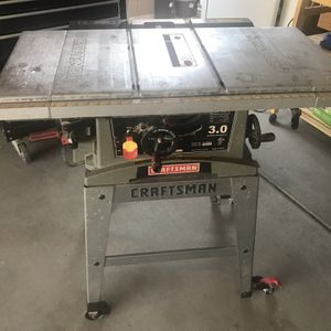 Craftsman Table Saw for Sale in Maricopa, AZ