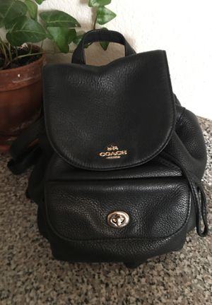 Authentic Coach Backpack Purse for Sale in Las Vegas, NV