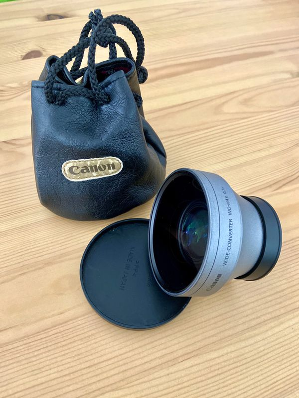 Canon WD-H43 0.7x Wide Angle Converter for HV Camcorders