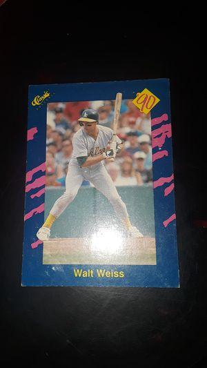 1989 baseball card for Sale in Fresno, CA