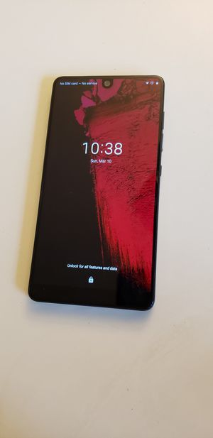 Essential Phone - 128GB (UNLOCKED) for Sale in Centreville, VA