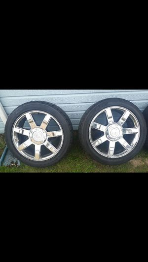 Set of 22s ESCALADE wheels for Sale in Tacoma, WA
