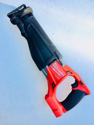 New Milwaukee M18 FUEL Brushless Sawzall Reciprocating Saw (Tool Only) for Sale in Modesto, CA