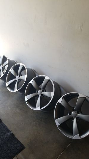 Audi sport wheels, Made by Ronal 19's by 81/2 for Sale in Moreno Valley, CA