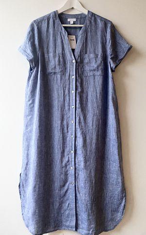 J Jill Linen Shirttail Longline Tunic Shirt Dress NWT Size Large - Retail $99 for Sale in Arlington, VA
