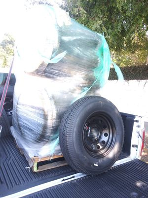 """NEW TRAILER TIRES 15"""" 6 LUGS COLOR BLACK HEAVY DUTY for Sale in Los Angeles, CA"""