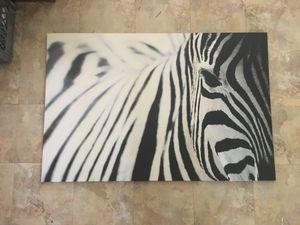 Zebra art picture 78x188 cm for Sale in Milpitas, CA