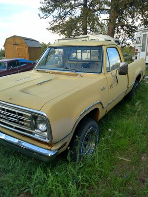 1975 Dodge w100 Power Wagon 4x4 w/ Adventure Package for Sale in Wenatchee, WA