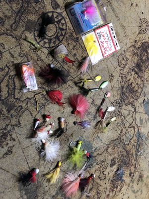 Fishing spinners and fly for Sale in Portland, OR