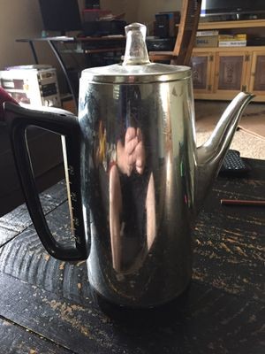 Stainless steel percolator/coffee maker for Sale in Neffsville, PA