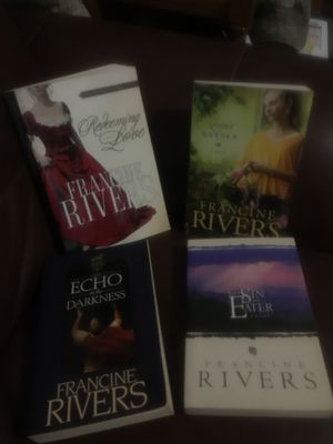4 excellent books by francine rivers for Sale in Murfreesboro, TN