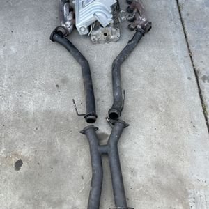 Mustang 5.0 fox body gt 40 intake exhaust combo for Sale in Fresno, CA