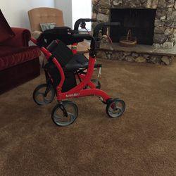 Nitro Duet Transport Chair / Rollator for Sale in Orlando,  FL