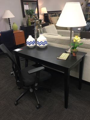 "48"" black writing desk for Sale in Tulsa, OK"