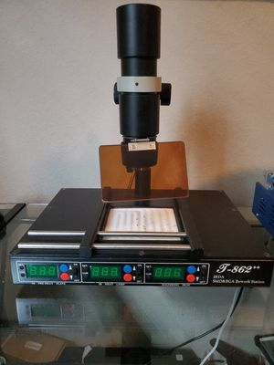 T-862+ BGA SMD Rework station, video game repair, cell repair etc. for Sale in Houston, TX