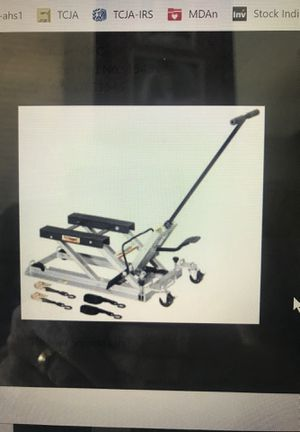 OTC Motorcycle Lift Part #1545 for Sale in Clodine, TX
