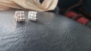 Diamond stud earrings for Sale in Traverse City, MI