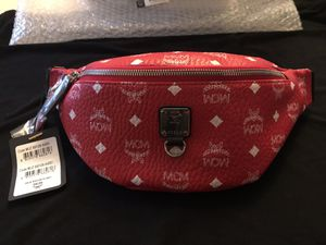 100% AUTHENTIC MCM FANNY PACK WAIST BAG POUCH NEW for Sale in Pasadena, CA