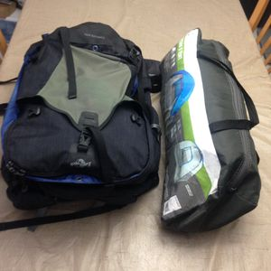 Eagle Creek Thrive 90L Backpack & 5 Person Tent (10'x9')comes with hidden waterproof cover. Excellent condition. No returns no refunds for Sale in Pembroke Pines, FL