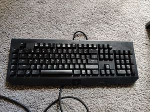 Razer Black widow gaming keyboard for Sale in Renton, WA