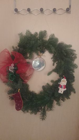 Hand made real Christmas wreath for Sale in Hillsboro, OR