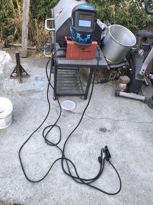 Calmet stick welder with helmet for Sale in Los Angeles, CA