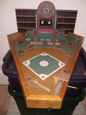 Antique old century Baseball cofee table game for Sale in Mount Airy, NC