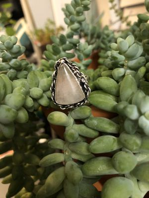 Triangle moonstone ring for Sale in Lake Forest, CA