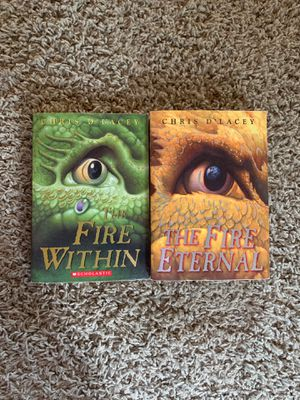 Fire Within and The Fire Eternal by Chris D'Lacey for Sale in Williamsport, PA
